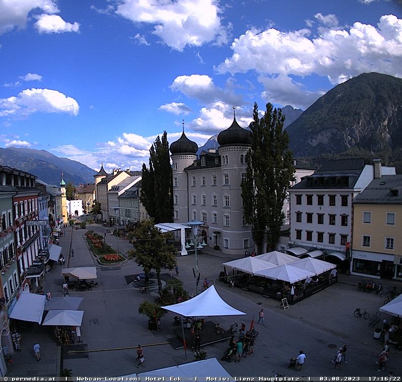 Webcam Lienz city, Osttirol - the weather in the city!