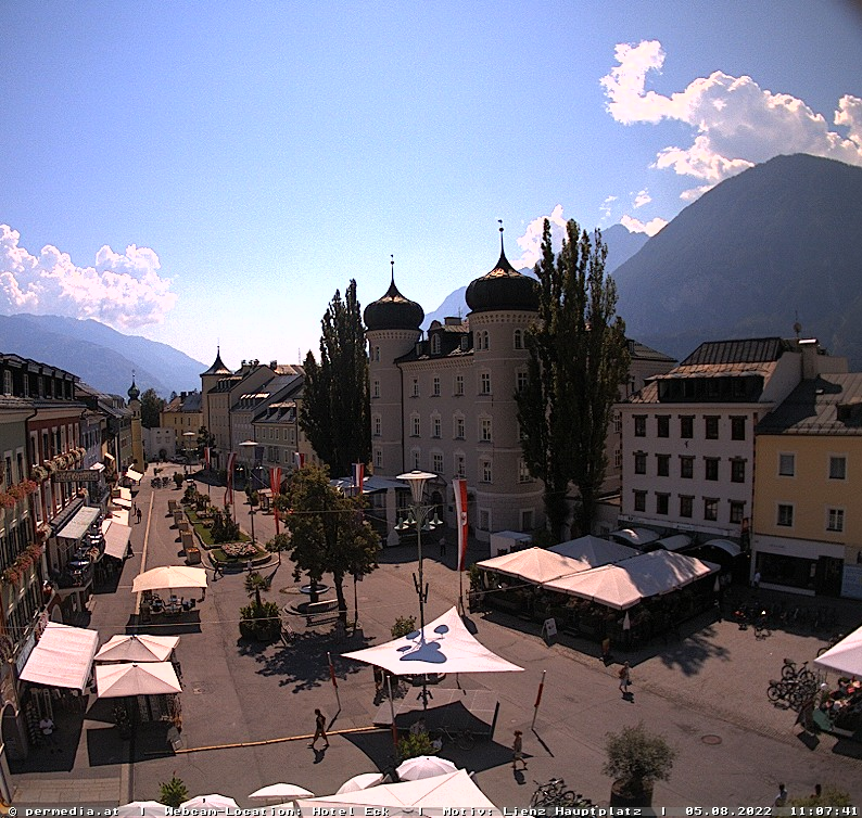 Webcam Lienz city, Osttirol - the weather in the city!